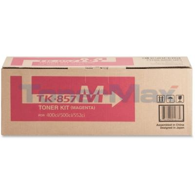 KYOCERA MITA TASKALFA 400CI TONER KIT MAGENTA